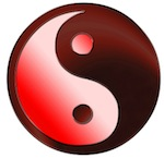 Yin Yang van een relatie in balans