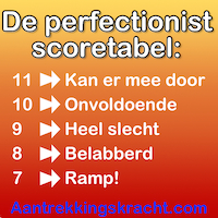 Nadelen van perfectionisme