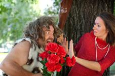 Man met knuppen en rozen, een van de eerste date dont's