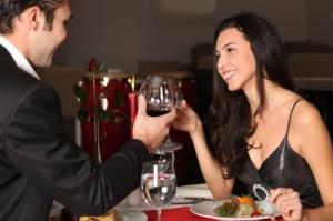 Man en vrouw tijdens relatiebemiddeling