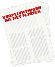 Contract: Verplichtingen na het flirten
