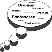 Denkballon: dromen en fantaseren (stop, start met verleiden en daten!)