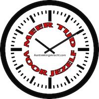 Klok 'Meer tijd voor jezelf'