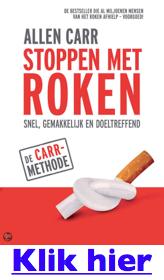 Boek: stoppen met roken van Allen Carr