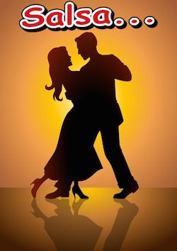 Twee singles tijdens het salsadansen