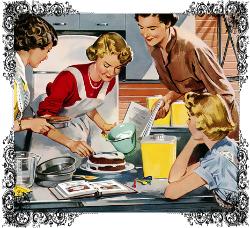 Vrouwen in de keuken in tijden van traditie
